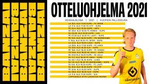 Kuopion Palloseura - FC Inter sarja-avauksena lauantaina 10.4.