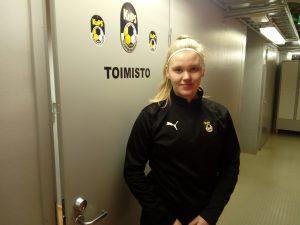 Kuopion Palloseura ja Heidi Leppämäki pelaajasopimukseen