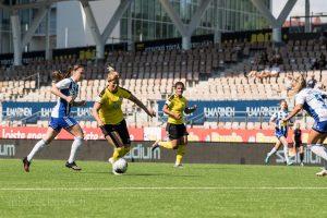Harjoituspeli HJK - KuPS 2-1 (1-0)