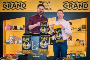 Kuopion Palloseura ja Grano merkittävään monivuotiseen yhteistyöhön