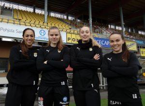 Aino Kröger toimii KuPS-kapteenina