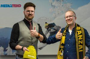 Kuopion Palloseura ja Mediateko laajaan yhteistyöhön