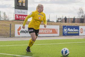 Anni Hartikainen valittiin U19-leirille
