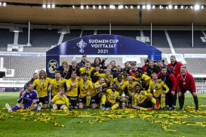 SE ON SIINÄ! KuPS juhlii Suomen Cupin mestaruutta