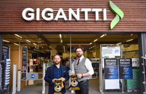 Gigantti ja Kuopion Palloseura solmivat merkittävän yhteistyösopimuksen
