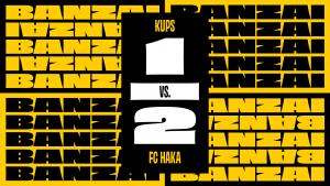Otteluraportti: FC Haka puolusti voiton KuPS:sta