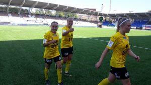 SUBWAY Kansallinen Liiga: HJK - KuPS 0-2 (0-2)