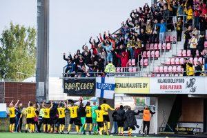Veikkauksen Etuasiakkaana saat kaksi lippua yhden hinnallaKuPS–HIFK-otteluun!