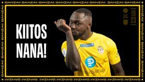 Nana Boateng siirtyy Romanian suurseuraan – KuPS saa merkittävän siirtosumman