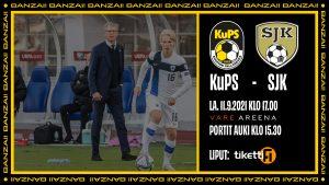 Otteluennakko: KuPS palaa kotiyleisön eteen huippuottelussa SJK:a vastaan