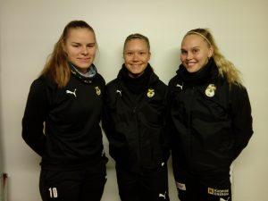 Kröger, Ruuskanen ja Peuhkurinen U23-leirille