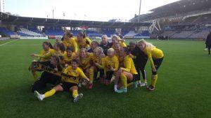 Kuopion Palloseura on Suomen mestari 2021